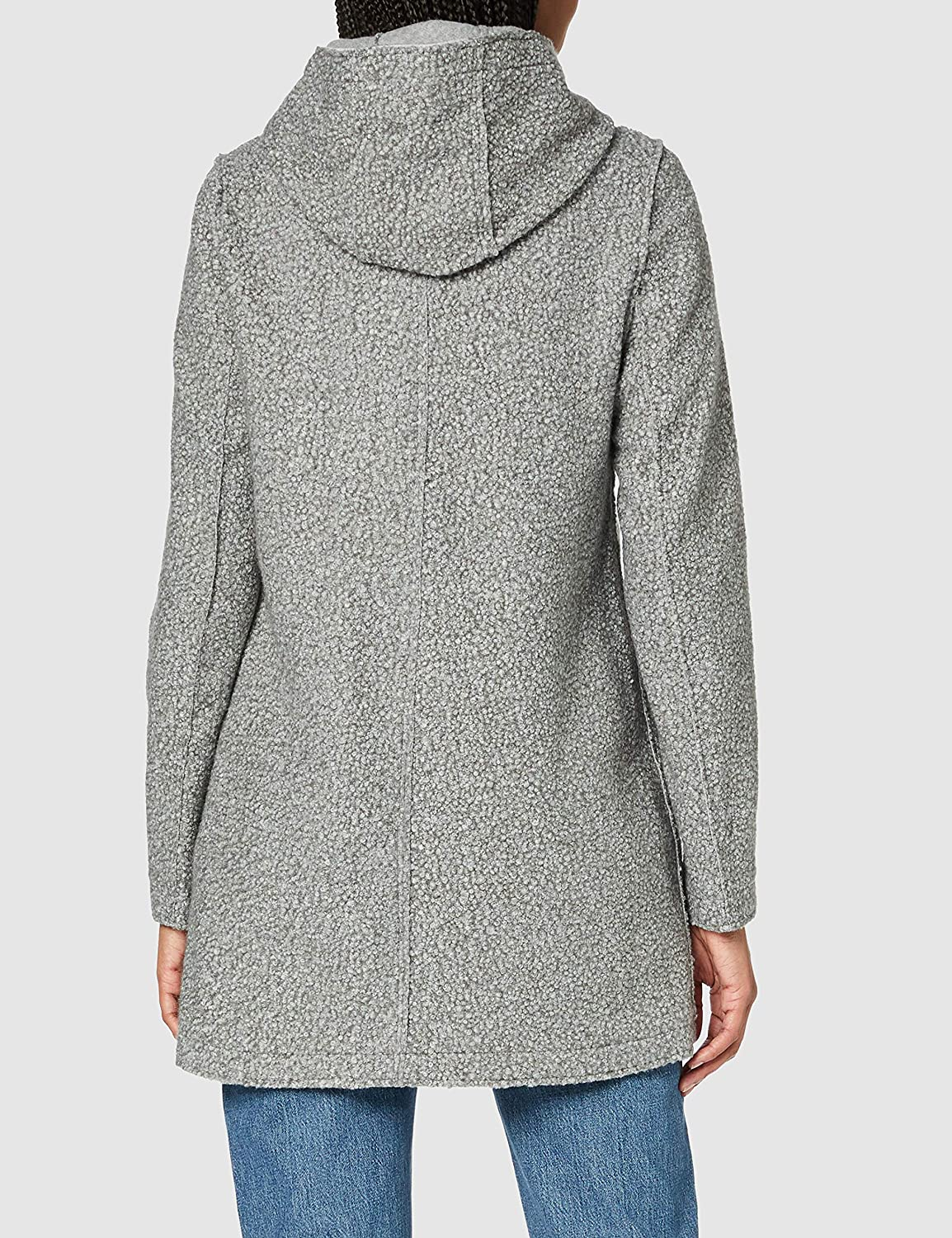Street One Damen Mantel Moon Grey Melange