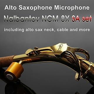Micrófono de saxofón alto Nalbantov NCM 8X SA set - Sistema de recolección, Cable,