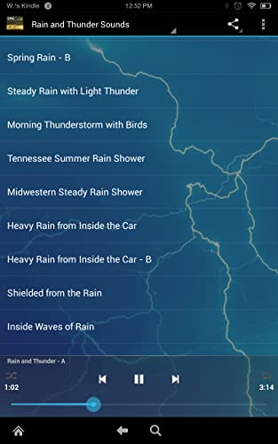 『Epic Rain & Thunder Sounds - with featured ebook: Basic Weather Spotters' Field Guide』の3枚目の画像