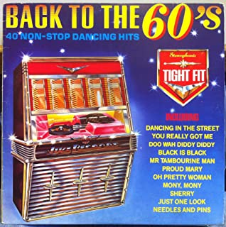 VARIOUS ROCK TIGHT FIT BACK TO THE 60's vinyl record