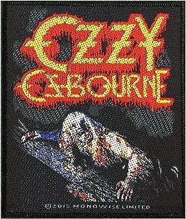 G/én/érique Ozzy Osbourne Badges Bark at The Moon Patch tiss/é 8,5/x 10/cm