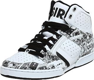 Osiris Men's Bronx Slim Sneaker,Mixtape/White,5.5 M