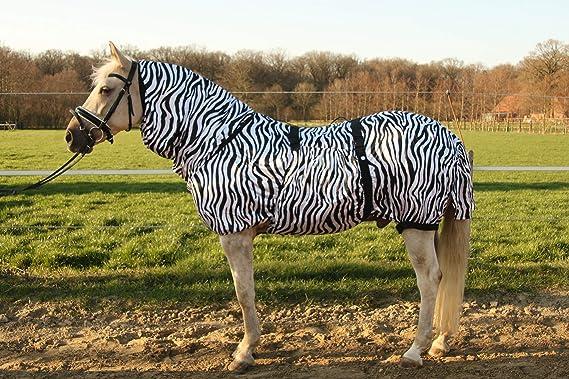 Hafer24 Fliegendecke Ekzemerdecke Weidedecke  Ekzemdecke Marty Zebra Größe 165