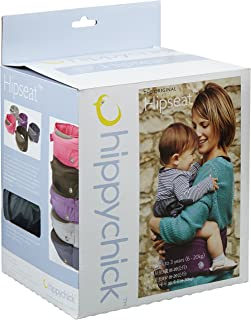 Hippychick Hipseat Baby Carrier, Grey,