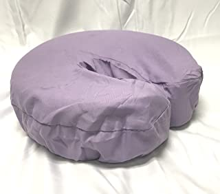 Therapist's Choice Premium Deluxe Microfiber Massage Table Face Cradle Covers, 4pcs per package (Lavender)
