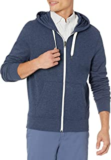 Men's Lightweight French Terry Full-Zip Hooded Sweatshirt