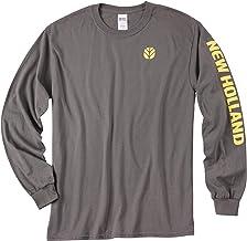 New Holland Grey Long Sleeve T-Shirt