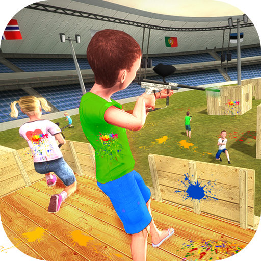 Paintball Combat Shooting Training Arena