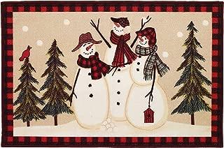 Avanti Snowmen Gathering Rug