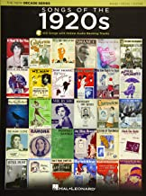 Songs of the 1920s: The New Decade Series with Online Play-Along Backing Tracks