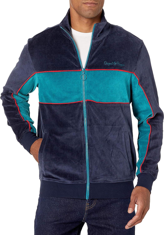 Original Penguin Mens Long Sleeve Track Jacket