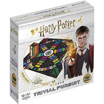 Winning Moves-Trivial Pursuit Harry Potter 1800 Questions-Jeu de société-Version française, 0486