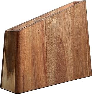 Porte-couteau magnétique en bois Uniharpa, porte-couteau universel et support organisateur. Porte-couteaux Space Saver.