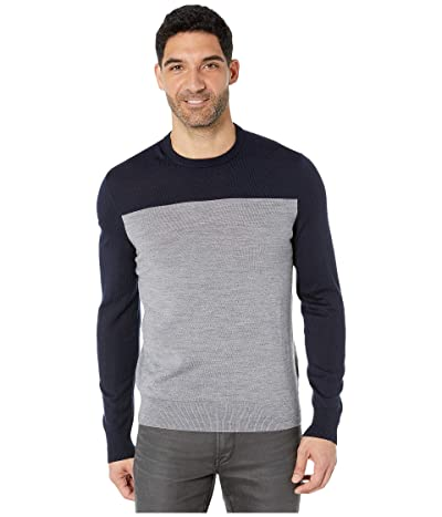 Calvin Klein Merino Blend Color B (Cadet Navy) Men