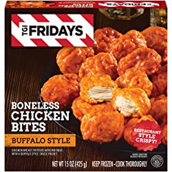 TGI Fridays Buffalo Style Frozen Boneless Chicken Bites (15 oz Box)