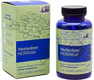 Motherlove Moringa Vegan Capsules (120ct) Herbal Lactation Supplement to Enhance Breast Milk Supply for Breastfeeding Moms...
