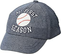 Mud Pie - My 1st Season Baseball Hat (Infant/Toddler)