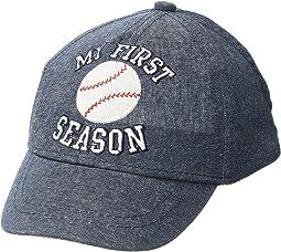 Mud Pie My 1st Season Baseball Hat (Infant/Toddler)