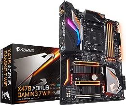 GIGABYTE X470 AORUS Gaming 7 WIFI (AMD Ryzen AM4/X470/Intel Wave 2 WIFI/M.2) Motherboard (Renewed)