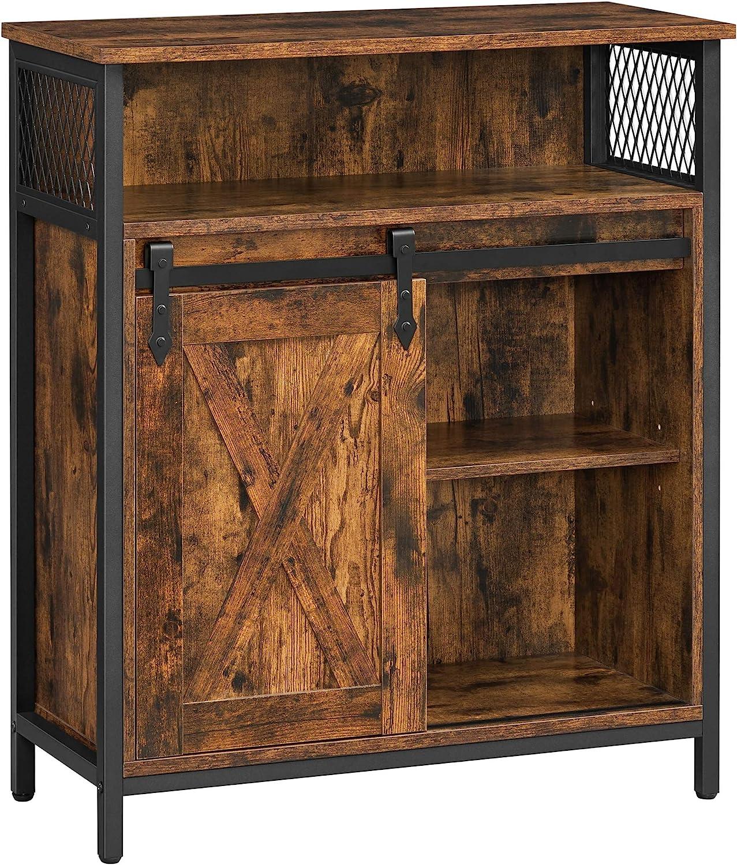 San Jose Mall VASAGLE COBADO Storage Cabinet Sideboard Open Max 66% OFF with Com Cupboard