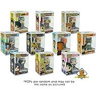 Funko POP Mystery Anime Bundle Pack Set of 6! 6 Random Pops No Duplication! Includes 6 Golden...