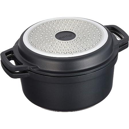 cotta 無水調理鍋 シルバー 直径:20cm 本体高さ:9.5cm 蓋:3cm 92081