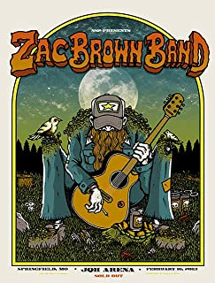 Zac Brown Band Iron On Transfer for T-Shirts & Other Light Color Fabrics #1 Divine Bovinity