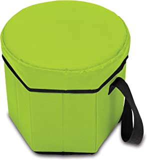 featured product ONIVA - a Picnic Time Brand Bongo Insulated Collapsible Cooler,  Lime