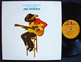 sound track recordings from the film Jimi Hendrix; 2 LP