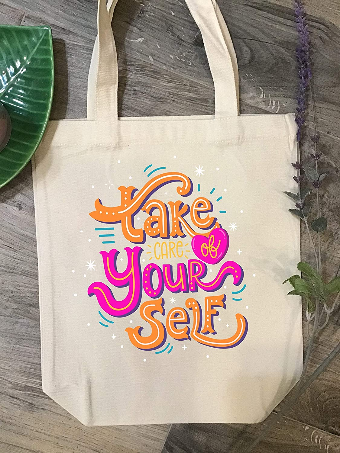 Outstanding Take Of Yourself Tote Heavy Gift- Duty Bag Persona In stock Personalized-