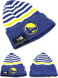 online retailer 9217b 2f85e New Era NBA Striped Chill Classic Cuff Beanie Hat Cuffed Winter Basketball  Knit Cap