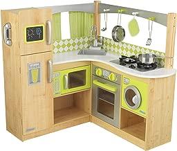 KidKraft New Limited Edition Wooden Lime Green Corner Kitchen