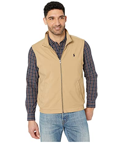 Polo Ralph Lauren Windbreaker Vest (Luxury Tan) Men