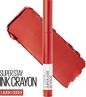Maybelline New York SuperStay Ink Crayon Lipstick, Matte Longwear Lipstick Makeup