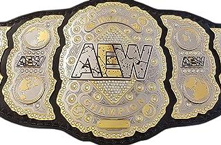 Grid Era Sports AEW World Heavyweight Championship Belt Dual Gold Plated