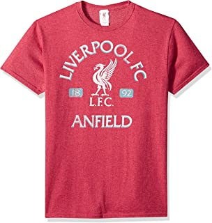 Fifth Sun Official Liverpool Fc Vintage Reds Men's Tee
