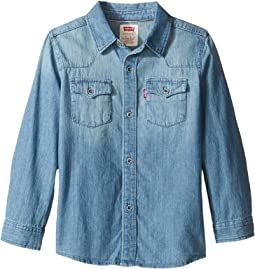 Barstow Western Woven Top (Little Kids)