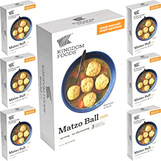 Matzo Ball Mix - No MSG, No Shortening - Kosher for Passover and All Year Round - 4.5 Oz (127g) (6-Pack)