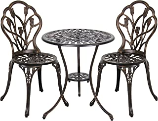 Best vintage cast aluminum outdoor furniture Reviews