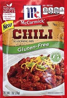McCormick GLUTEN-FREE Chili Seasoning Mix 1oz (3 pack)