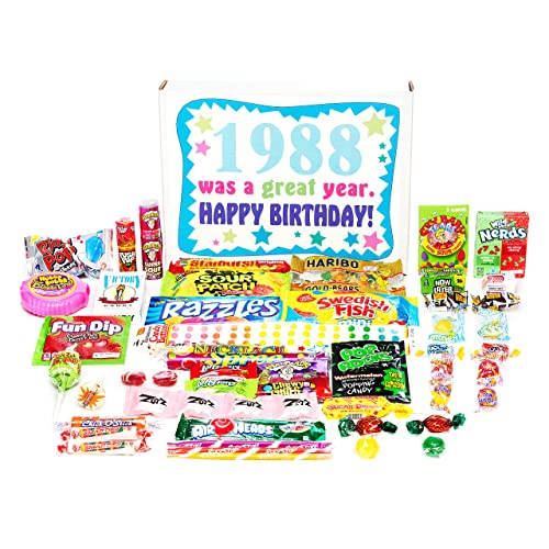 Woodstock Candy 1988 31st Birthday Gift Box Of Retro Nostalgic From Childhood For 31