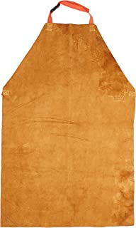 Prossor W103 Tablier en cuir Doré/chromé 61 x 91 cm