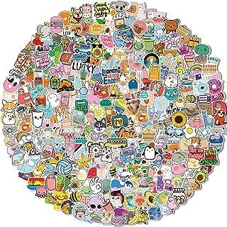 300 PCS Water Bottle Stickers, Vinyl VSCO Waterproof Cute Aesthetic Stickers, Hydroflask Laptop Phone Skateboard Stickers ...