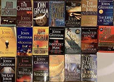 John Grisham Thriller Novel Collection 20 Book Set