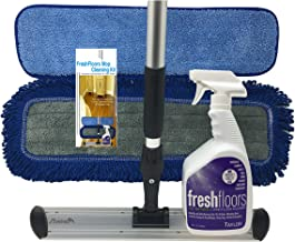 Taylor FreshFloors - Floor Mop Cleaning Kit - Complete Hardwood & Laminate Flooring Cleaning System -18