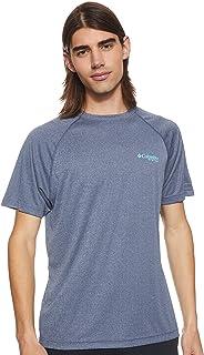 Columbia Men's Terminal Tackle Heather SS Shirt Tees And T-Shirts