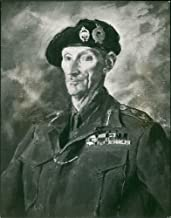 Vintage photo of Augustus John (Gen. Sir. Bernard Montgomery)