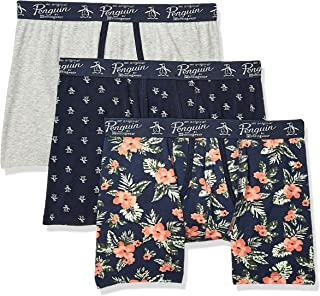 Men's Cotton Stretch Boxer Brief Underwear, Multipack