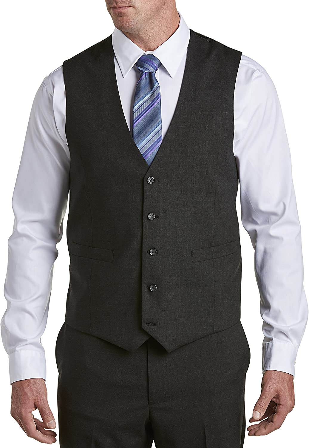 Gold Series by DXL Big and Tall Suit Vest (Regular)