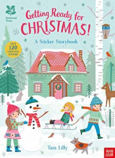 National Trust: Getting Ready for Christmas, A Sticker Storybook (National Trust Sticker Storybooks)